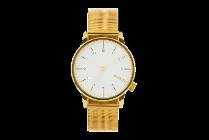 Reloj_Komono_Winston_Royale_Gold_White