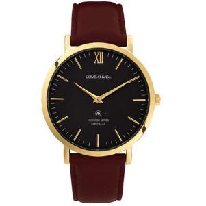 Reloj Combo Heritage Gold Black