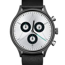 reloj-cronometrics-engineer-gunmetal-chrome-leather-zaragoza
