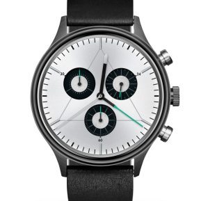 reloj-cronometrics-engineer-gunmetal-chrome-leather-zaragoza