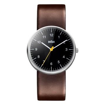 Reloj_braun_classic_marrón