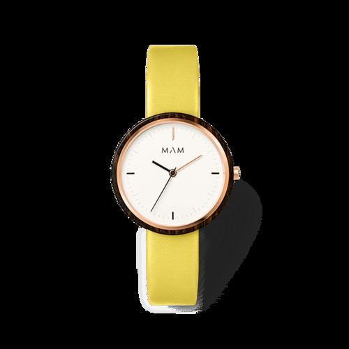 reloj_mam_plano_33mm_yellow